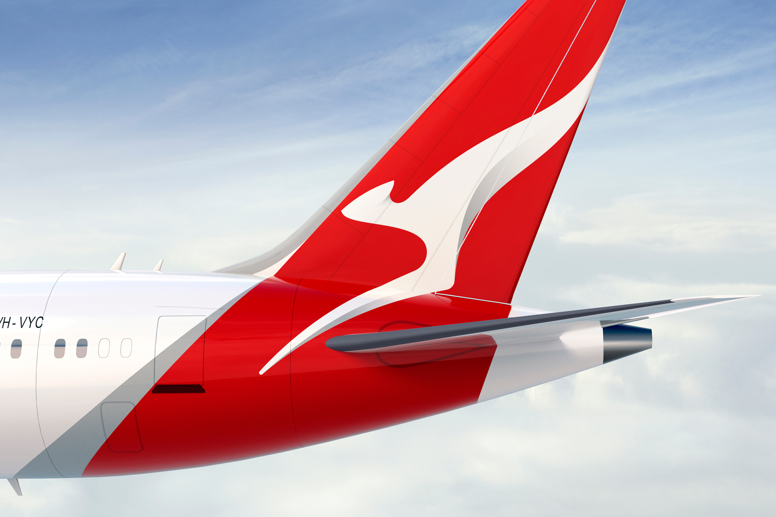 Qantas group houston group we also sought inspiration from the retro flying roos capturing the movement of the wings in a modernised way theres a sense of energy and dimension now stopboris Images
